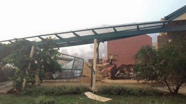 Another post on the Queanbeyan SES Facebook page. The destruction was isolated, but serious.
