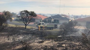 The blaze burnt out 168 hectares of bushland.