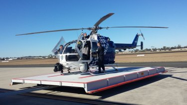 New Brisbane police helicopter unveiled