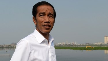 'No second chances': Indonesian President Joko Widodo.