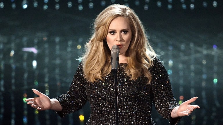 Adele attracted crowds of 120,000 to her two concerts at The Gabba in March.