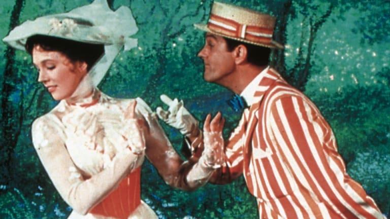 Julie Andrews and Dick Van Dyke in the 1964 original.