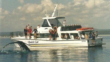 The Perrys have owned all seven vessels over the 30-odd years they have been operating.