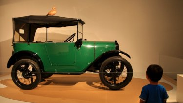 Car culture: items from a recent exhibition at the Powerhouse Museum.