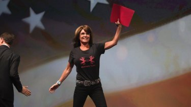 Red flag: Reports that Sarah Palin joined TV network Al Jazeera originated on a satirical website.