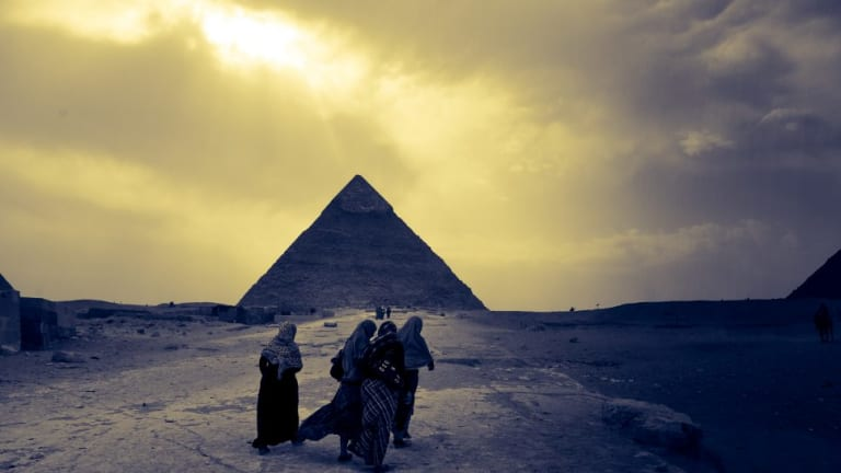 By monitoring the cosmic rain on Egypt's Great Pyramid, an international research team has detected a large void.