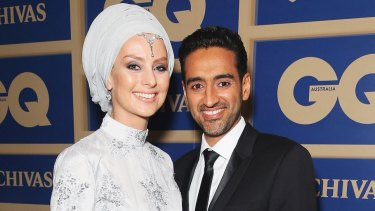 Susan Carland and her husband Waleed Ali.