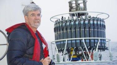 John Church on a CSIRO research voyage.