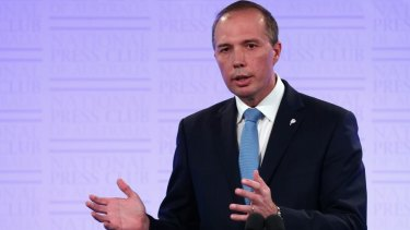 """HIV test like a """"home pregnancy test"""": Peter Dutton."""
