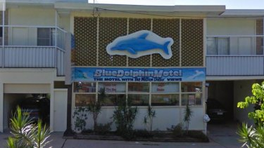 The Blue Dolphin Motel.