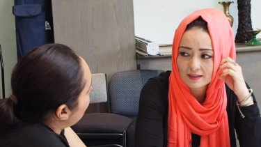 """""""Australia is such a multicultural country that interpreters are very important for people to understand their rights,"""": Sayema, from Springvale outside Melbourne, continues to use interpreter services for her personal affairs.."""