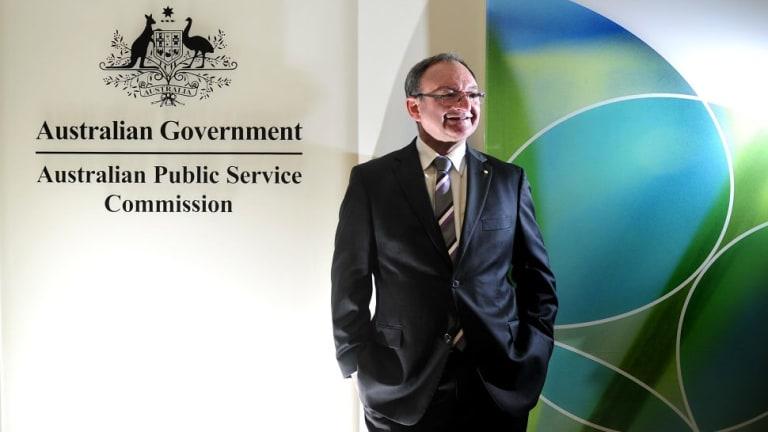 Australian Public Service Commissioner Stephen Sedgwick.