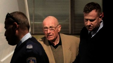 Roger Rogerson during Supreme Court hearings over the death of Jamie Gao.