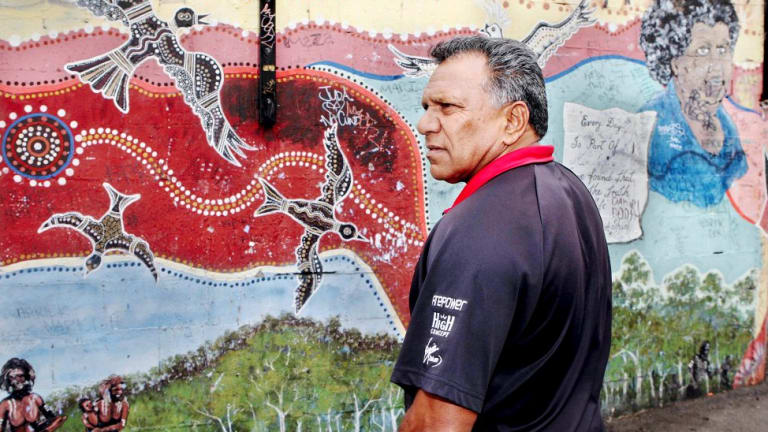 Dreams of a disparate nation poised to collapse: Mick Mundine, head of the Aboriginal Housing Company.