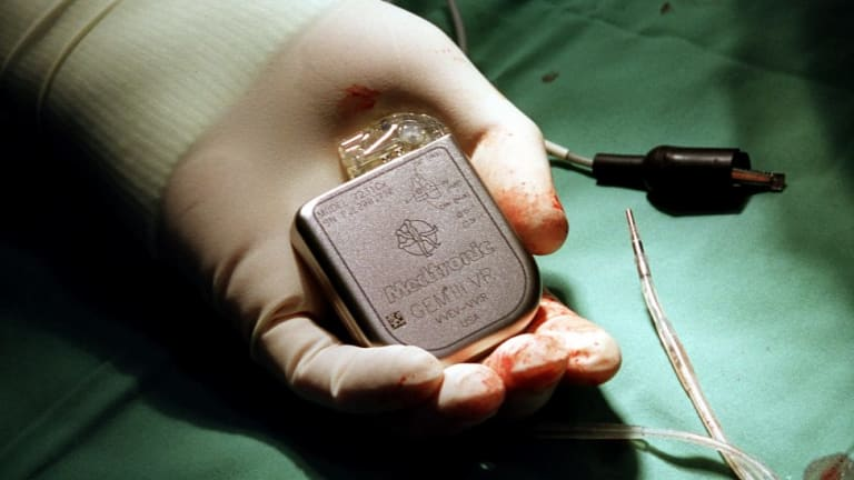 Some people with atrial fibrillation use a pacemaker.