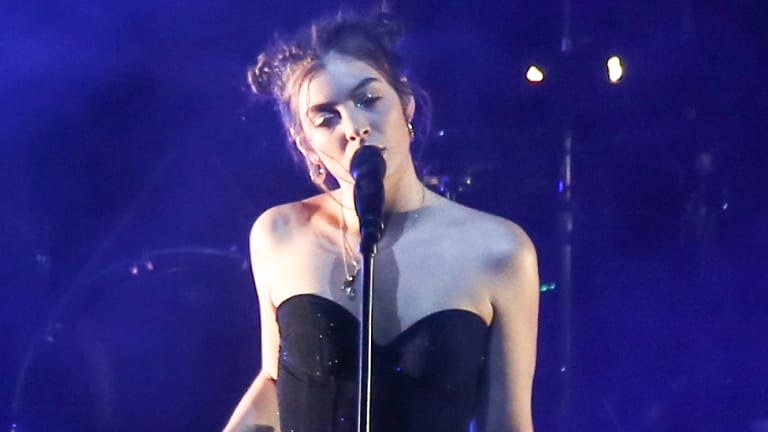 Lorde won't be performing at today's Grammy awards.