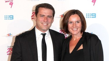 Karl Stefanovic split with his wife of 21 years, Cassandra Thorburn, in August.