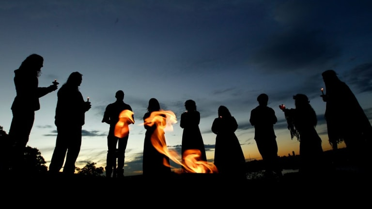 Winter of our content: Pagans celebrate the solstice.