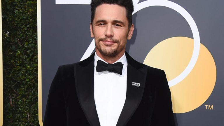 James Franco wore a Time's Up pin to the Golden Globes, angering women who said he had behaved inappropriately.
