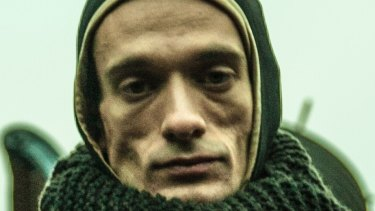 Russian performance artist Pyotr Pavlensky.