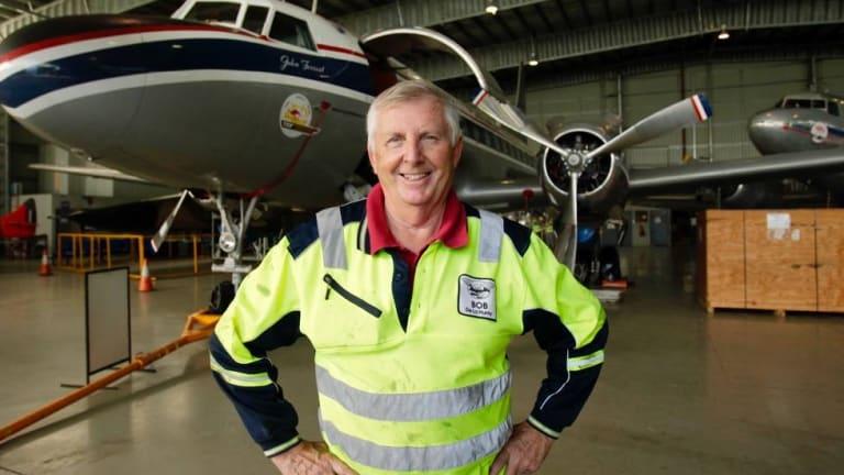 HARS president Bob De La Hunty first spoke with actor John Travolta about his Boeing 707 on a flight in 2009