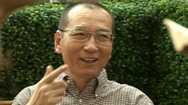 Why are the rulers of a rich and powerful China so worried about one individual?Liu Xiaobo speaks during an interview in 2008 before his detention in Beijing.