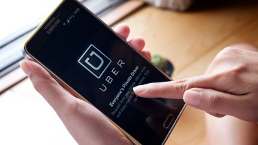 The number of people employed in the casual 'gig' economy has surged through the launch of services such as Uber.