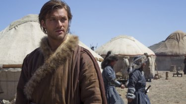 Lorenzo Richelmy in Netflix's newest series, Marco Polo.
