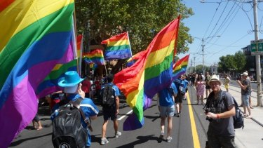 The Midsumma Pride March.