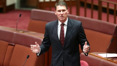 """Let's fight for fundamental freedoms and reject those who will pursue aims that are at odds with that"": Liberal senator Cory Bernardi."