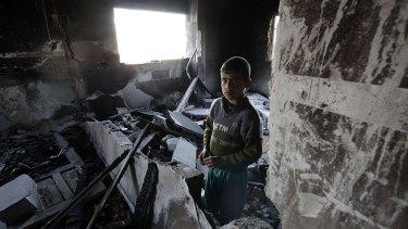 Abdallah al-Samouni, Gaza Strip, 2009.