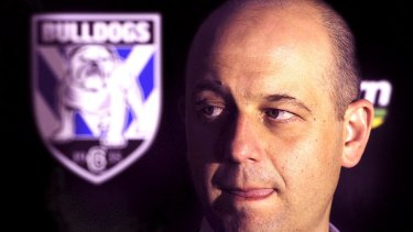 Pedigree: Todd Greenberg made his name in rugby league at the Bulldogs.