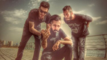 Iranian metal band Confess