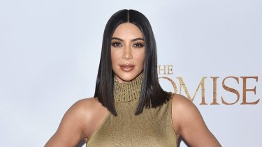 Kim Kardashian gave insight into how celebrity women are defined by how they look.