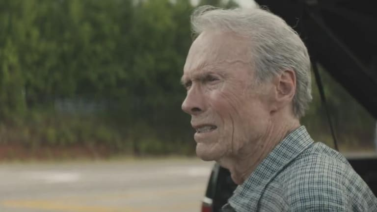 Clint Eastwood in The Mule.