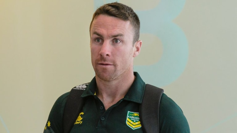 """""""It's pretty impressive what he's done at a young age but no doubt it'll be tougher the longer he goes on"""": James Maloney on new teammate Nathan Cleary."""