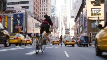 <i>Premium Rush</i>, starring Joseph Gordon-Levitt
