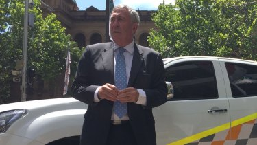 """[A toll] increase of 41 is not the standard we aspire to"": NSW Roads Minister Duncan Gay."