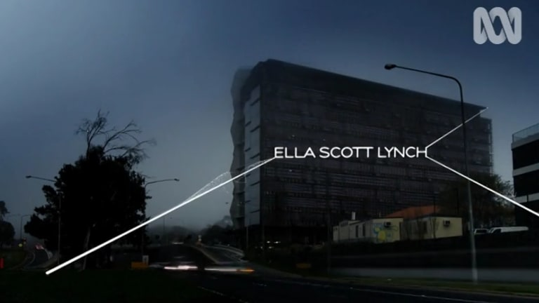 A mist-shrouded Nishi building looms large over Parkes Way in the opening credits.