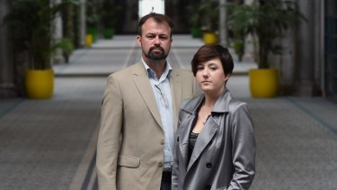 Claudia Simpson and John Murray were raised in foster care and have retold their experiences to a conference.