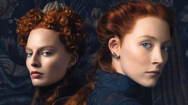 Margot Robbie and Saiorse Ronan: were the royal cousins they play in Mary Queen of Scots pen pals?