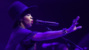 Lauryn Hill: The singer joins the Soulfest line-up.