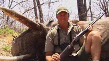 Glenn McGrath can't get away from those online photos of him posing with dead African wildlife.