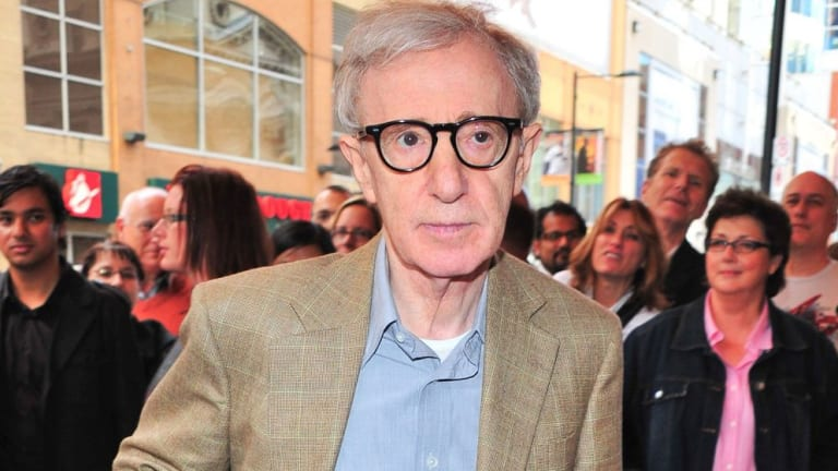 Woody Allen at a film premiere in Toronto.