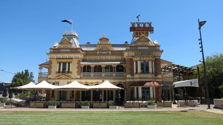 The Breakfast Creek Hotel, as it stands today.