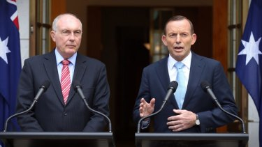 Prime Minister Tony Abbott and Deputy Prime Minister Warren Truss announced the decision to proceed with the Badgerys Creek airport on Tuesday.