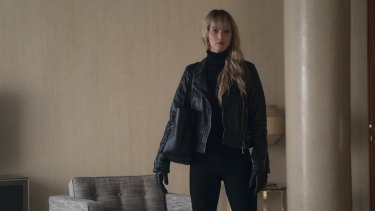Instinctive responses: Jennifer Lawrence in <i>Red Sparrow</i>.