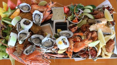 Take a road trip and enjoy some seafood on Mother's Day.