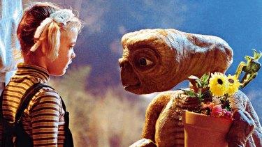 Drew Barrymore in <i>ET</i>.