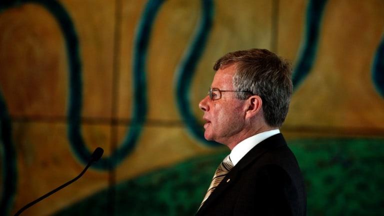 Professor John McMillan: the inaugural (and last?) Australian Information Commissioner.